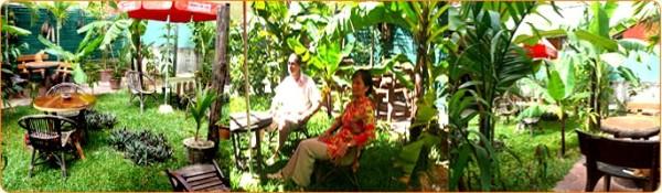 Une guesthouse à Siem Reap