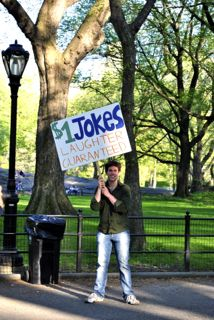 1$ jokes, New-York