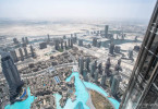 Vue sur l'immensité du désert - Dubaï