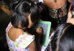 At school - Calcutta