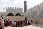 La queue des femmes, Touba, Sénégal