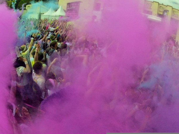 On a testé la Color Run