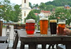 Dégustation de bière à Stramberk, République Tchèque