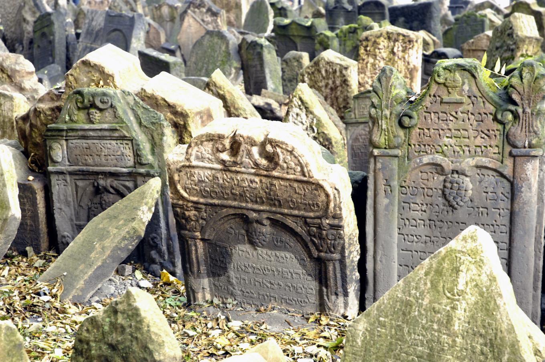 Cimetière juif de Josefov, Prague, République Tchèque