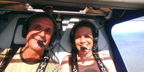 Vol d'ULM à Voh, Nouvelle-Calédonie