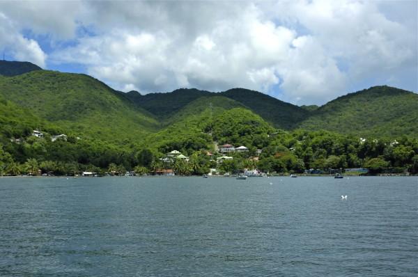 En mer, Deshaies, Guadeloupe