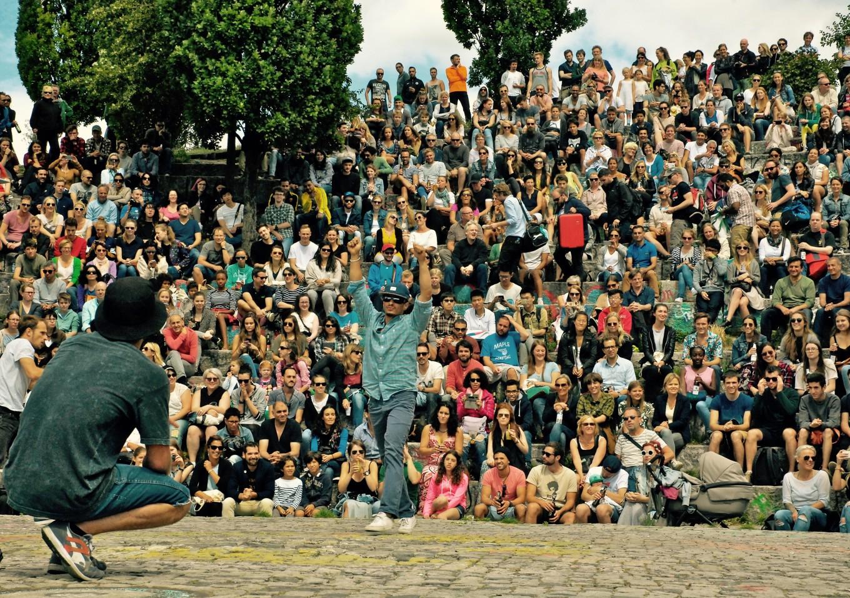 Un après-midi à Mauerpark, Berlin, Allemagne