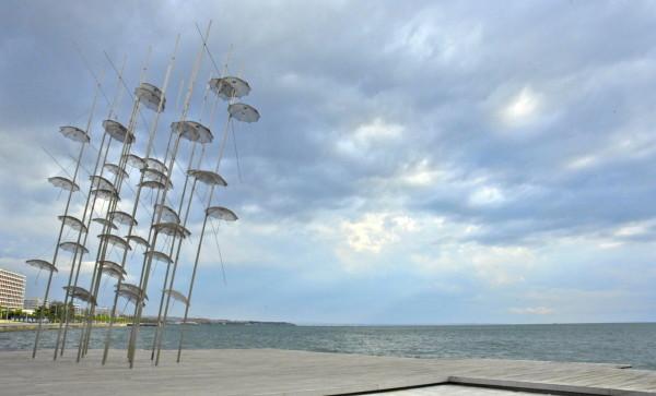 Umbrellas, Thessalonique, Grèce