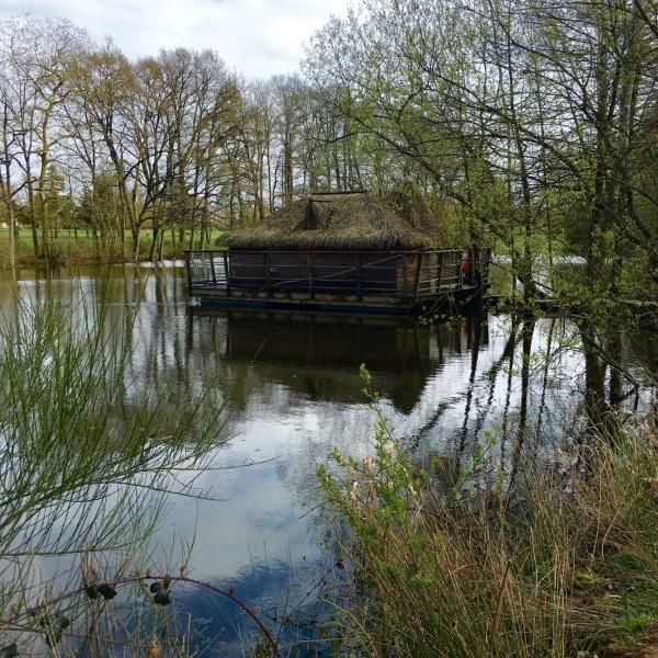 Dormir en cabane sur l'eau, Les Ormes, Dol de Bretagne