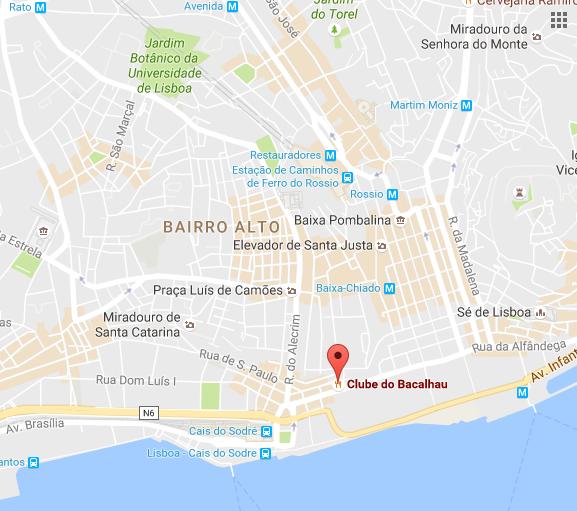Clube do bacalhau, Lisboa, Portugal