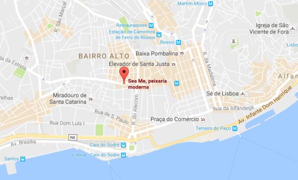Sea Me, Lisbonne, Portugal
