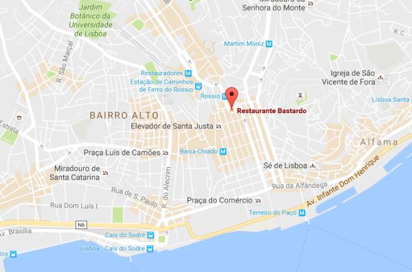 O Bastardo, Lisbonne, Portugal