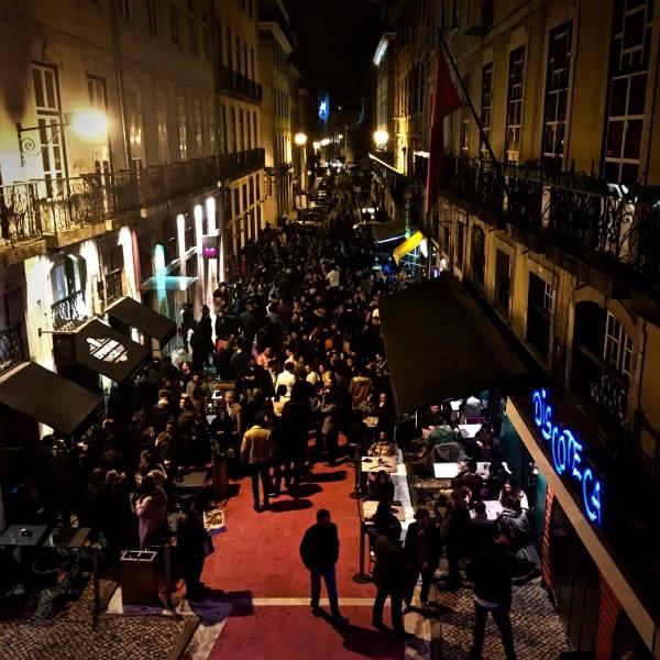 Pink Street, Lisbonne, Portugal