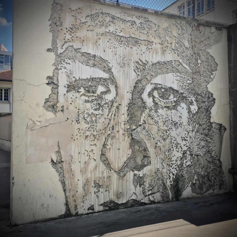 Oeuvre du street artiste Vince, Art and Town, Paris