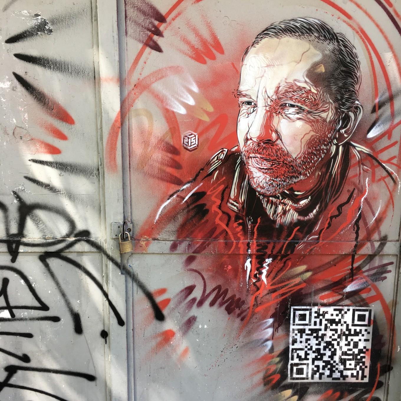 Oeuvre de C215, Art and Town, Paris