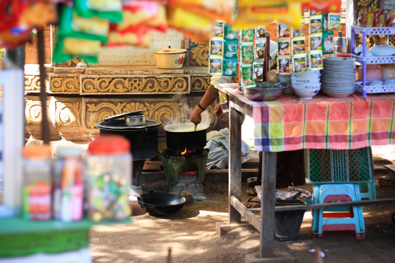 Cuisine de rue, Myanmar