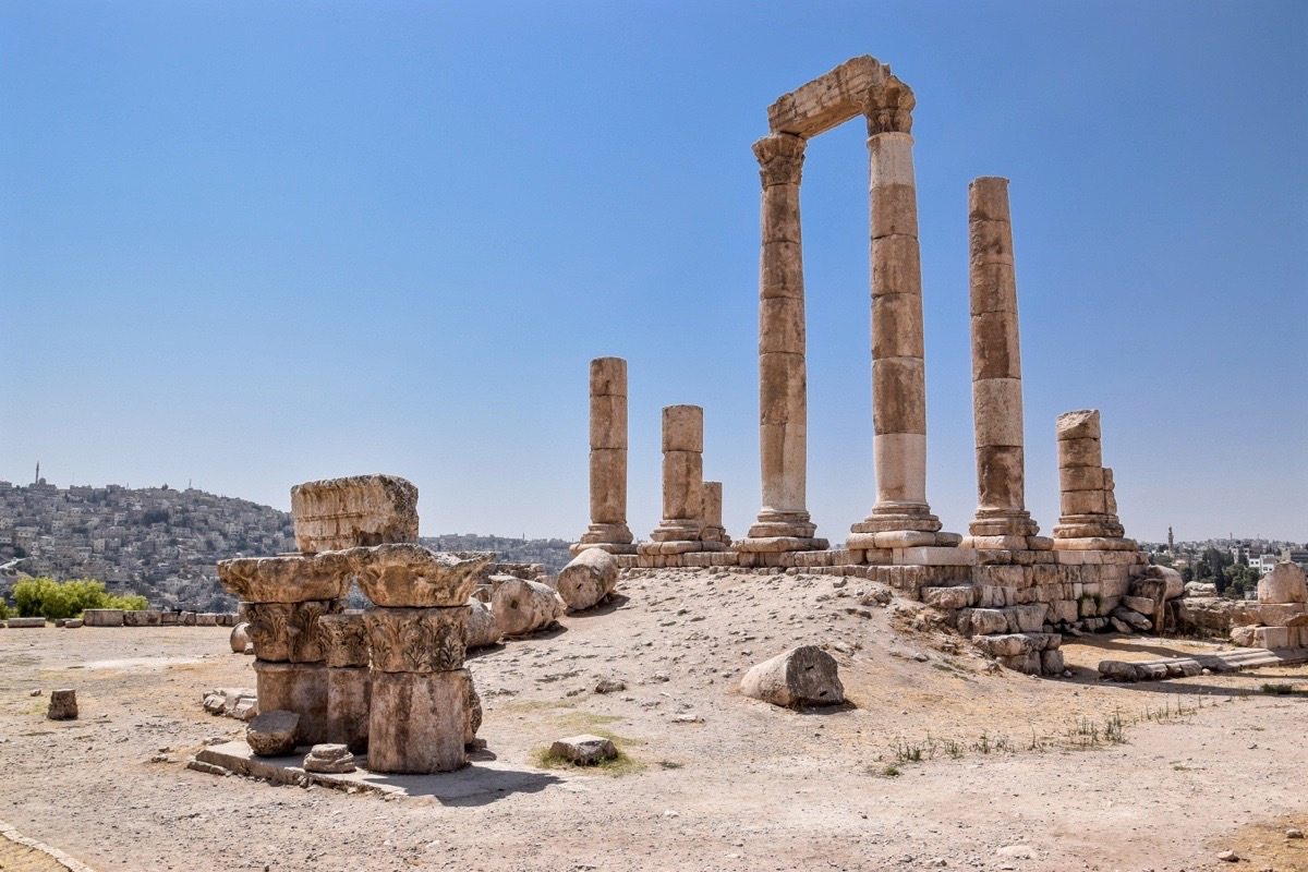 Citadelle d'Amman, Jordanie