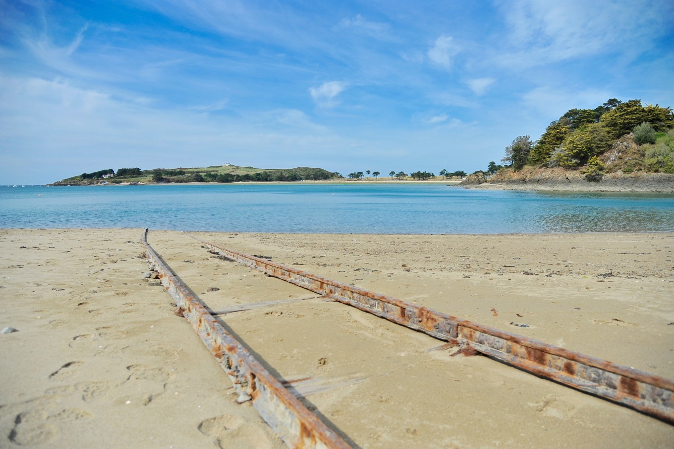 Rails de Rotheneuf, Saint-Malo, France