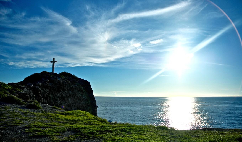 Lever de soleil à la Pointe des Châteaux, Grande-Terre