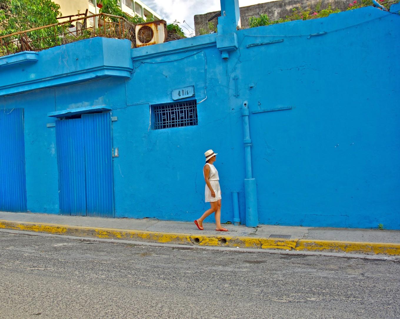 Dans les rues de Pointe-à-Pitre, Guadeloupe