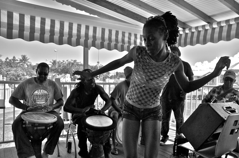 Danse à Gosier, Guadeloupe