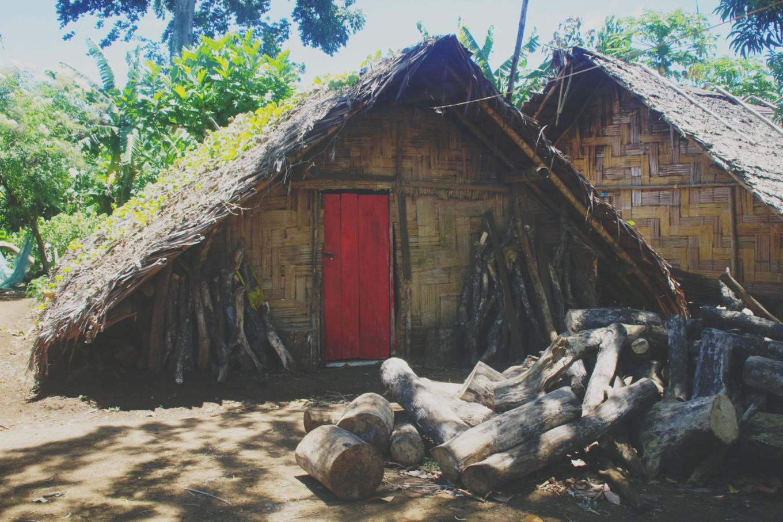 Maison traditionnelle, Vanuatu
