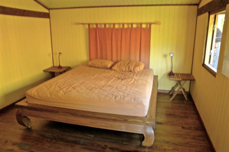 Ma chambre au Gîte Newejie, Poindimié, Nouvelle-Calédonie