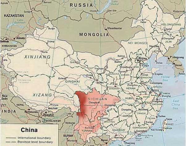 Région du Sichuan
