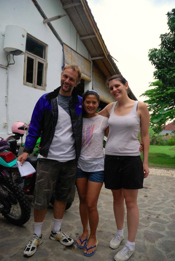 Claudia, Régis et Dayou
