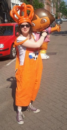 Claire, hollandaise depuis Octobre 2010.
