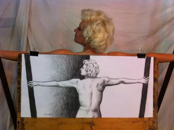 Un des modèles du Sydney Art Class, Australie