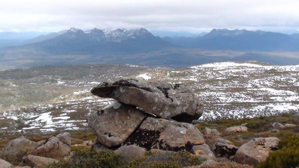 Carnet de voyage d'un roadtrip tasman : Lac St Clair – Mont Rufus (11)
