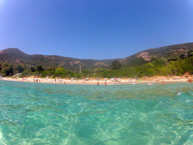 Plage Menasina, Corse