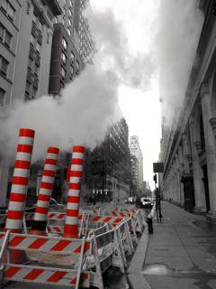 Subway's smokestacks, New-York