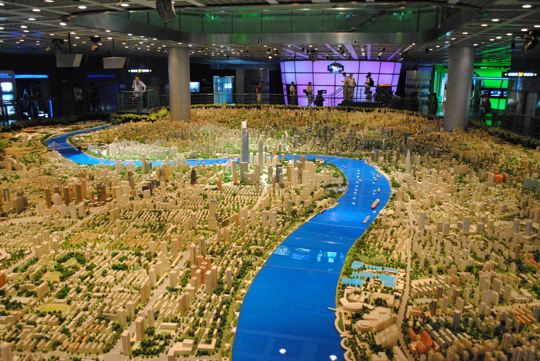 Maquette de la ville