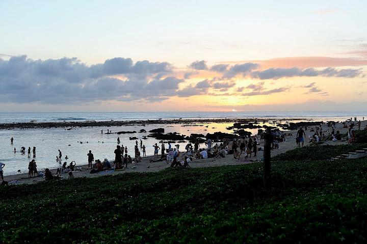 coucher de soleil Reunion