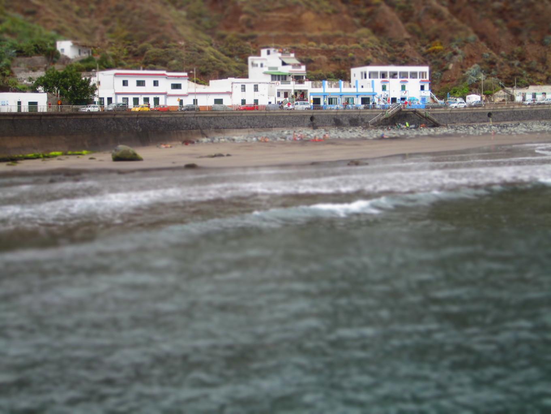 Village de la playa de Almaciga