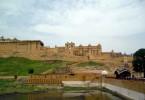 Arrivée à l'Amber Fort, Jaipur
