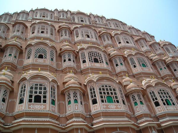 Hawa Mahal, le Palais des Vents de Jaipur, la ville rose (1)