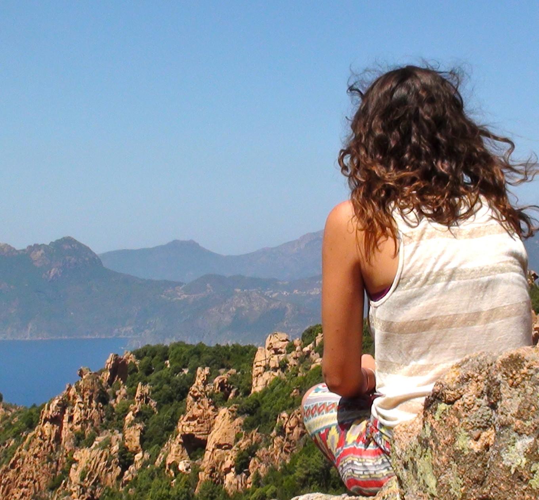 Claudia à Piana, Corse