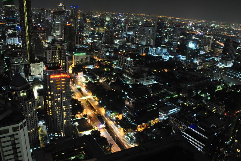 Bangkok vu du ciel