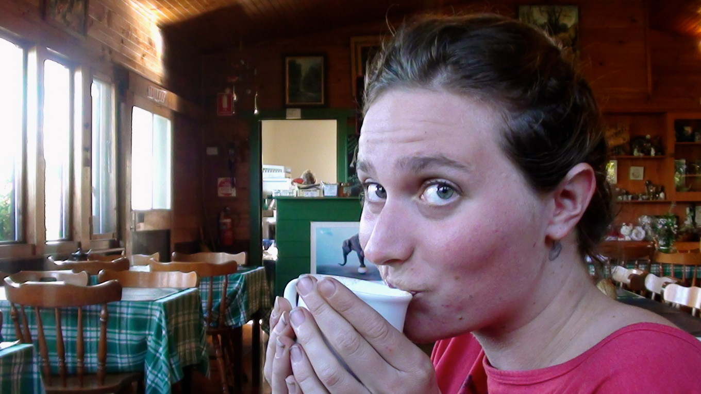 Eva au Mount Elephant Pancakes