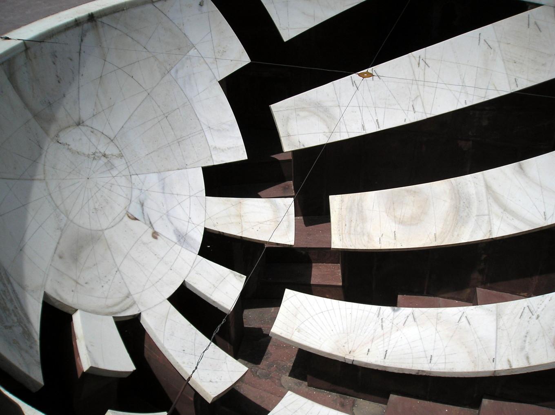 Instrument de calcul astronomique et astrologique - Jantar Mahar Jaipur
