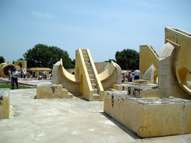 Place du Jantar Mahar, observatoire astronomique de Jaipur