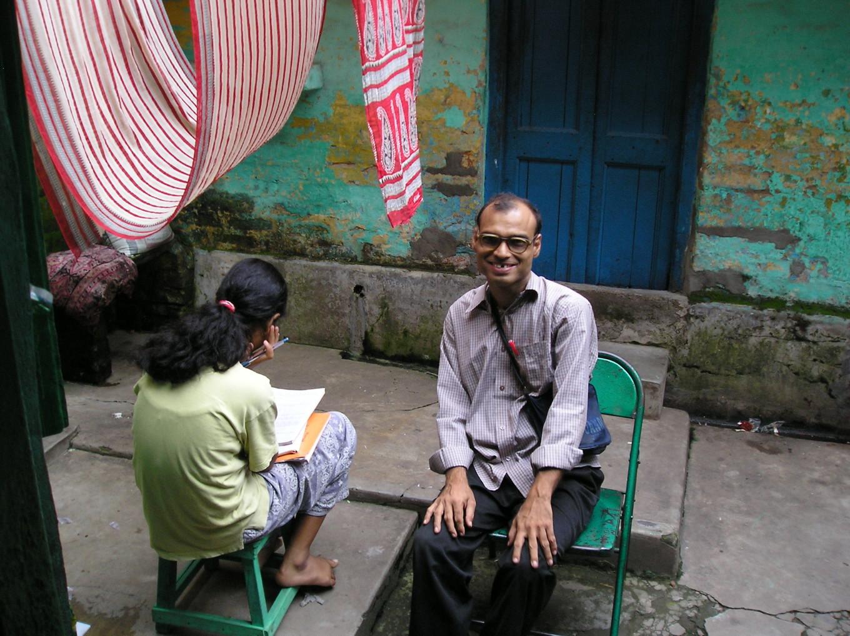 Learning lessons - Bidonville de Pilkhana