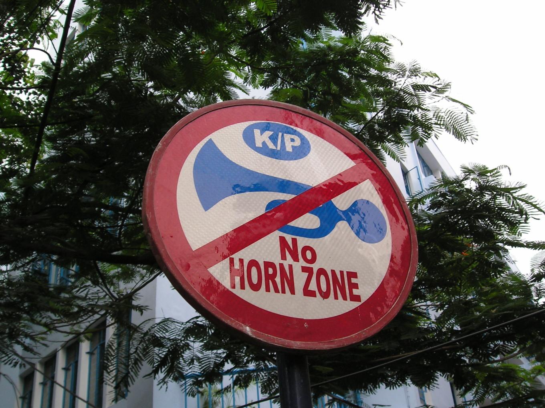 No Horn Zone - Calcutta