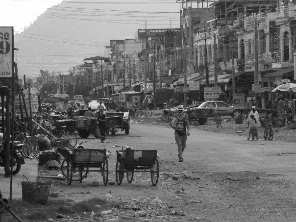Dans les rues de Phnom Penh, 2006 - Cambodge