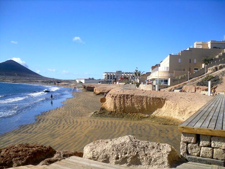 La plage de Lanzarote - Espagne