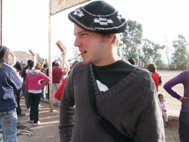 Sacha lors de son dernier voyage Zellidja - Argentine