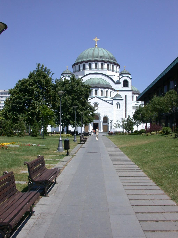 Cathédrale Saint-Sava - Belgrade, Serbie